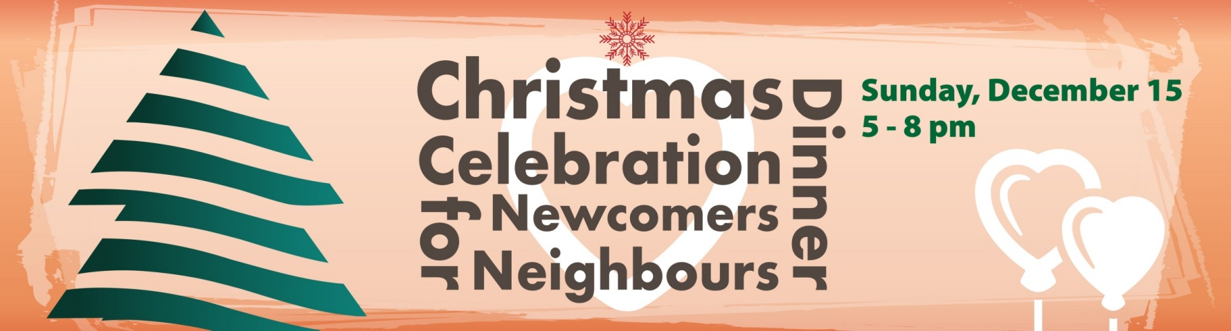 Christmas Dinner Celebration for Newcomers & Neighbours