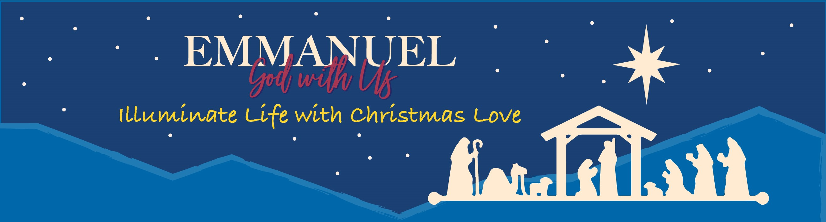 2020 Christmas Event Emmanuel God with Us Event