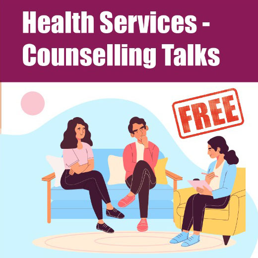 health services counselling talks