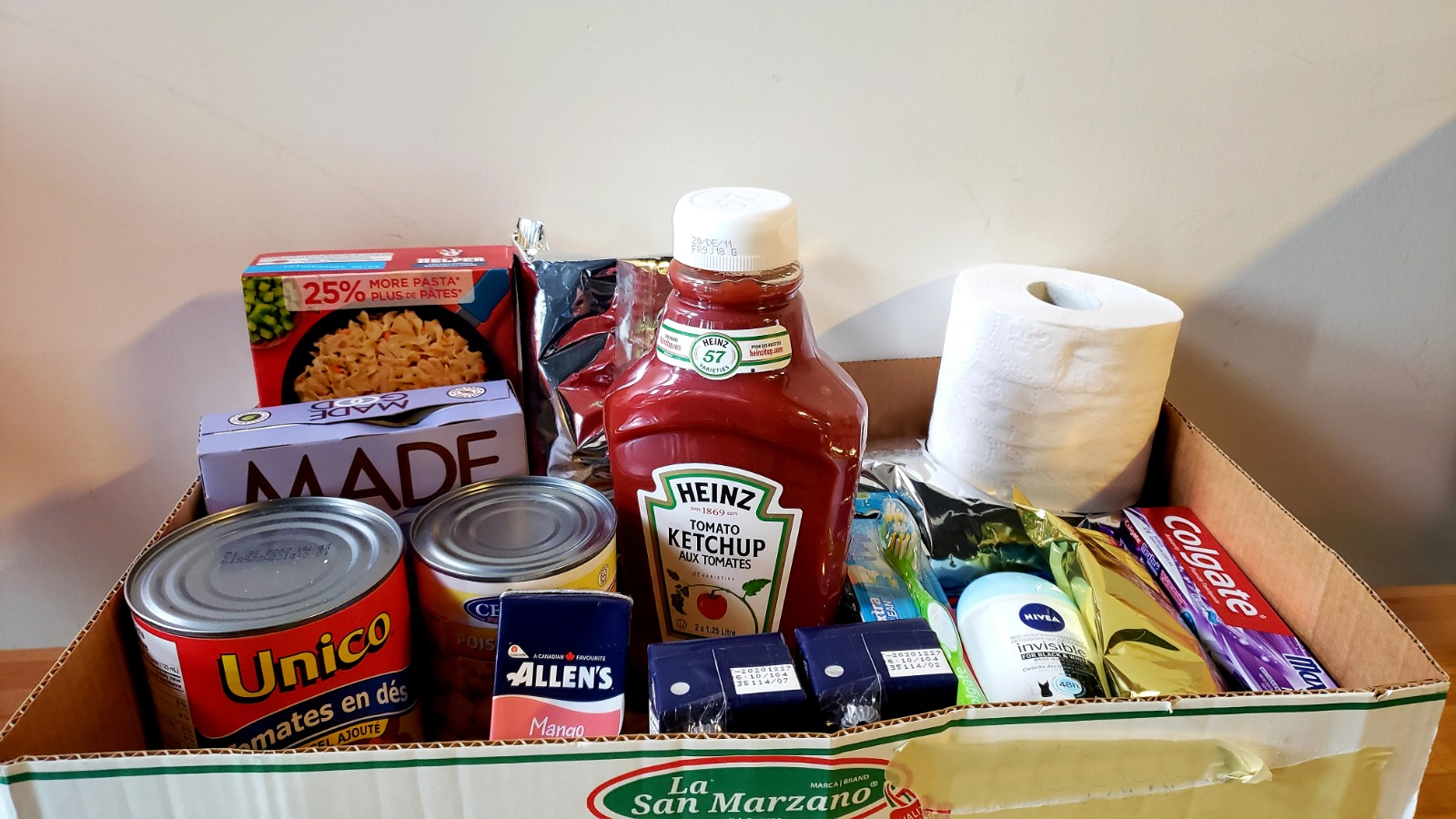 Donations to Food Bank
