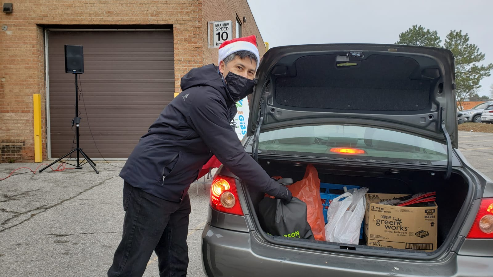 Christmas Drive-thru Giveaway Event