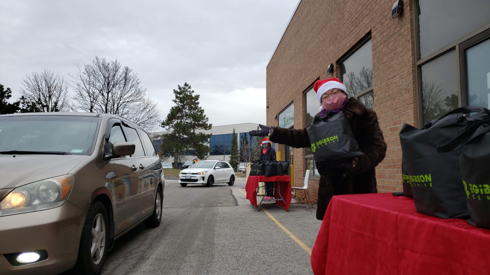 2020 Christmas Drive-thru Giveaway Event