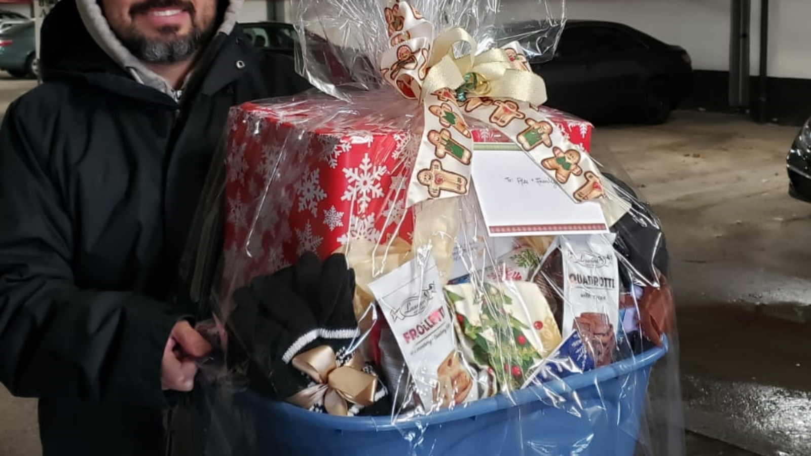 Food Bank Christmas Hamper –