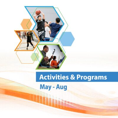 Activities and Programs Schedule for May to August, 2021 (Featured)