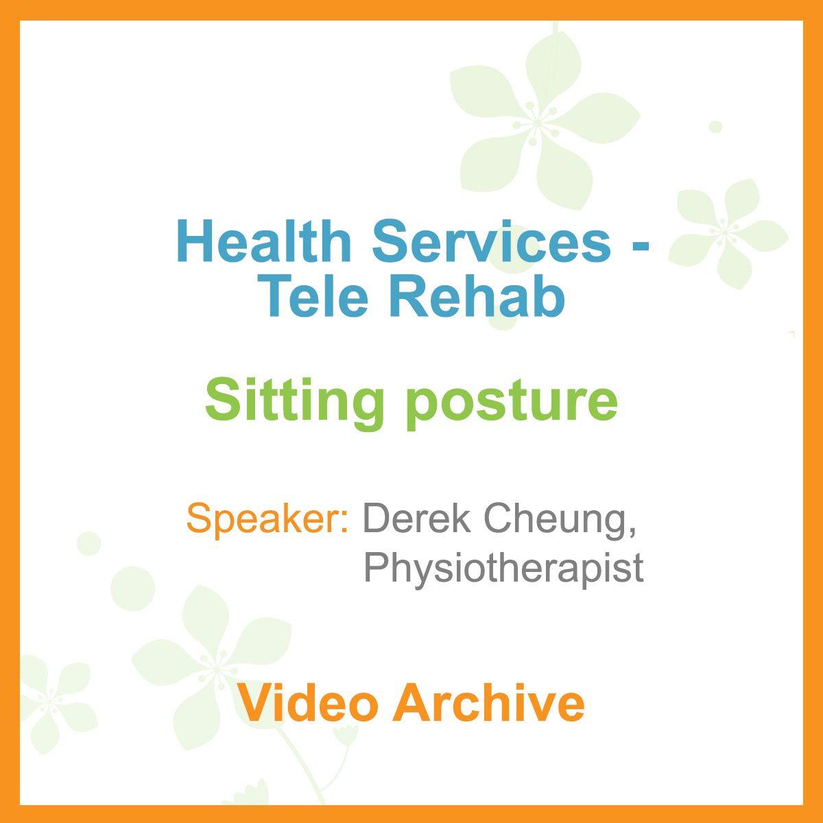 Health Services - Health Talk Video - Sitting Posture
