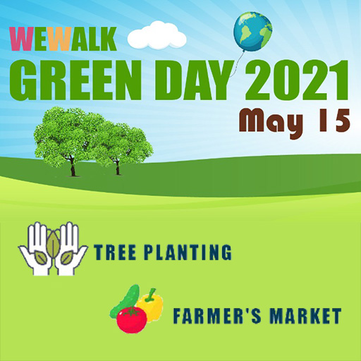 Wewalk-Green-Day-What's New