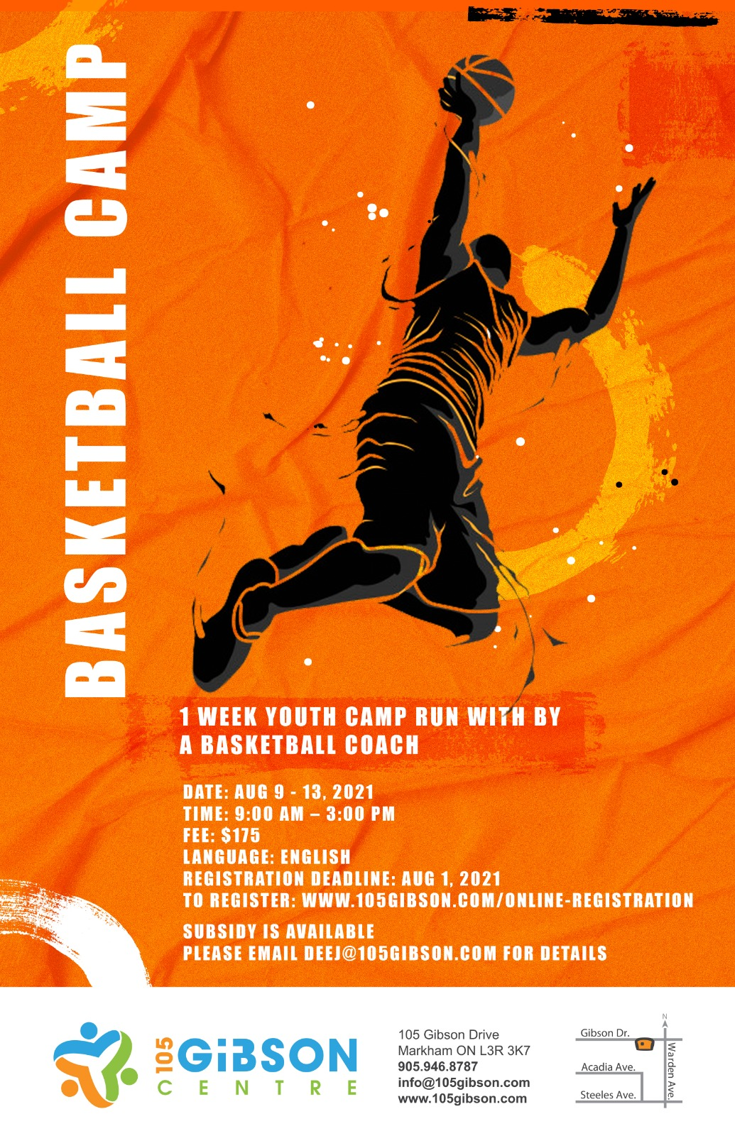 Basketball Camp for August