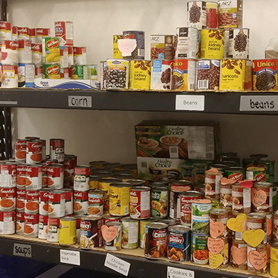 Donate to Food Bank