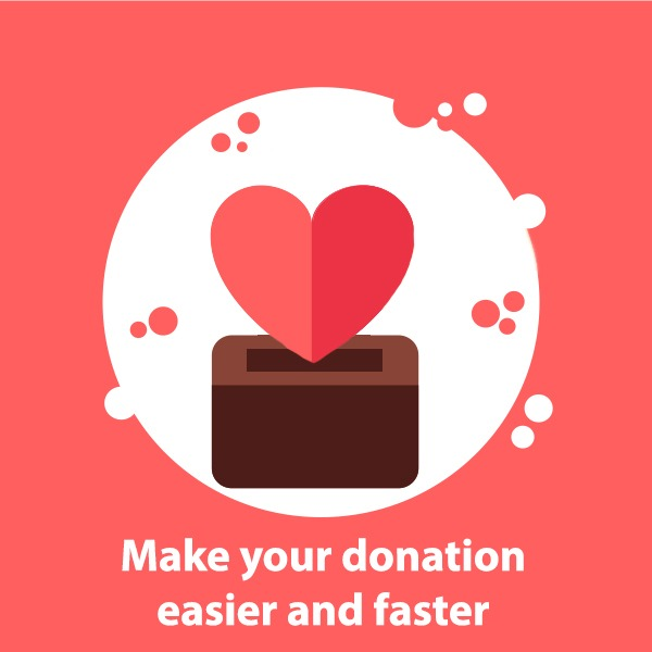 Donation made easy
