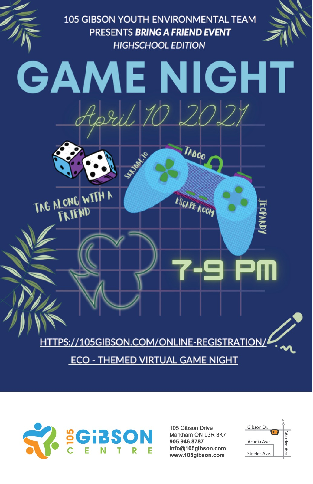 Game Night - April 10, 2021