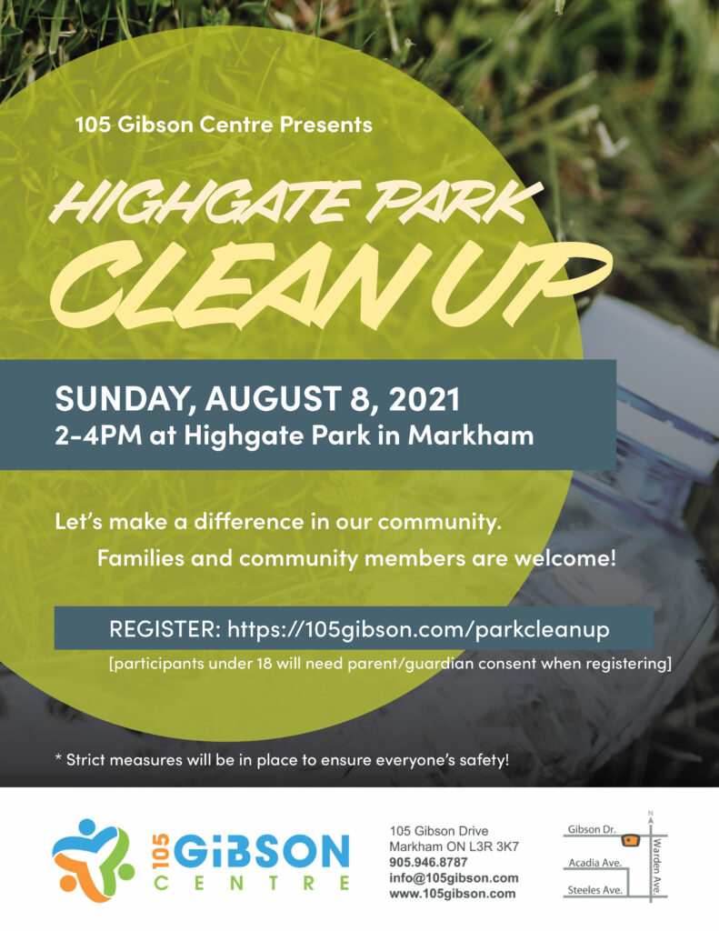 Highgate Park Clean Up - August 8, 2021
